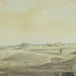 1804년 8월 16일 불로뉴 야영지 정경