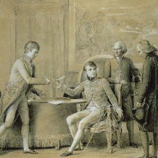 프랑스와 교황청 사이의 화친조약 서명, 1801년 7월 15일