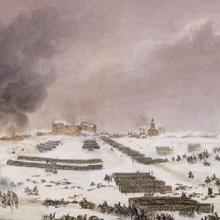 에일로 전투, 묘지 공격, 1807년 2월 7일