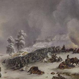 1812년 11월 18일, 아침 9시 크라스노에 전투에 참가한 리카르 사단