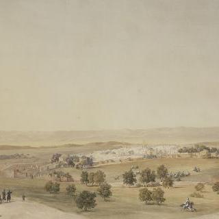 1836년 1월 프랑스 군대가 점령하고 있는 틀렘센시의 경치