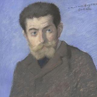 일명 조리스 칼 위스만이라고 불리는 샤를르 마리의 초상, 작가 (1848-1907)
