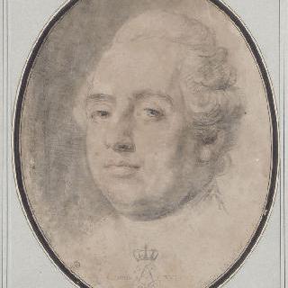 1788년 9월 22일 베르사유 궁에서의 모습으로 처형된 루이 16세의 초상