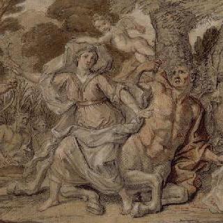 데자니르의 유괴 당시 헤라클레스에 의해 심각하게 부상을 입은 반인반마 네수스