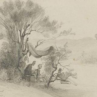 오말 공작과 오를레앙 공작의 초상 (1840년 알제리)