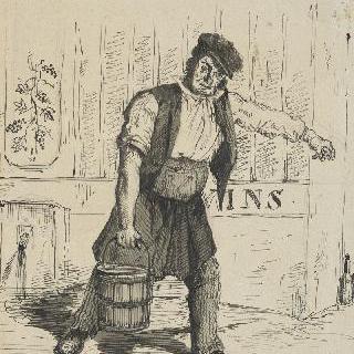 물 배달하는 오베르뉴 사람