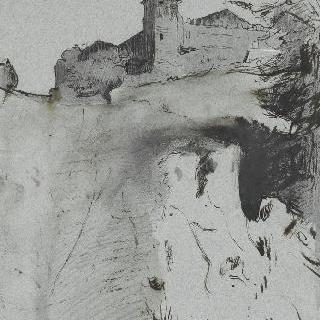 로마 평야의 요새화된 농가