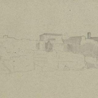 아벤티누스쪽의 로마에서 바라본 전경
