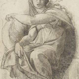 식스틴 예배당의 델포이의 무녀 복제화