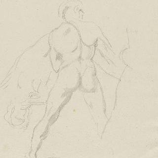 미켈란젤로의 복제화 : 쓰러진 그리스도를 부축하는 남자