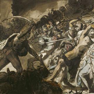 카이로의 반란, 1810년 지로대 그림풍