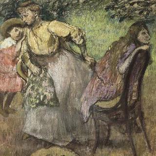 알렉시스  루아르 부인과 그녀의 아이들