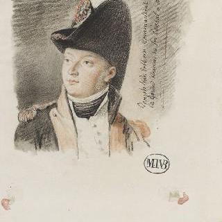 J.반 에르트본, 앙베르 징접관의 명예 경비대의 지휘관