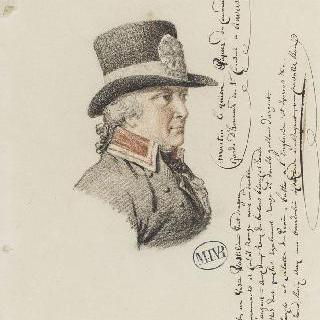 마르탱 르키앵, 앙베르 명예 경비대의 지휘관의 조마사