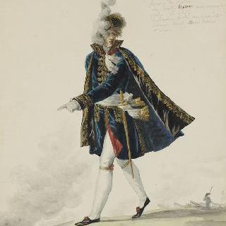 포병대의 감독관 의복