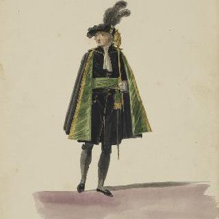 왕궁 문지기 의복