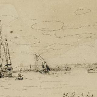 옹플뢰르 : 항구의 입구