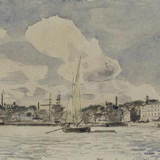 옹플뢰르의 항구