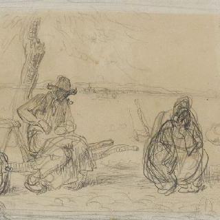 브리케의 초판과 관계된 데생 (1858)