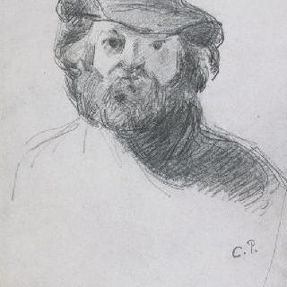 펠트 모자를 쓴 세잔의 초상