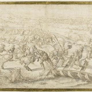 1525년 2월 25일 파비 전투 : 앙랑송 공작의 탈주