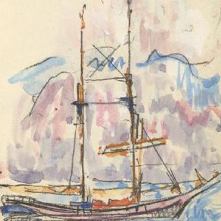화첩 : 두대박이 배