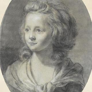 곱슬머리 소녀의 초상