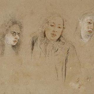 음악가들의 초상 3점