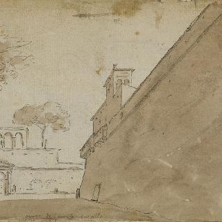 몬테 카발로의 성벽 전경