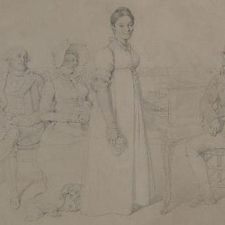 1806년 포레스티에르 가족