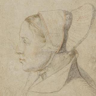 젊은 여인의 측면 초상
