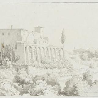 빌라 만도시의 전경