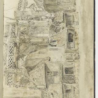 앨범 : 팔레즈의 성당과 가옥들의 정면