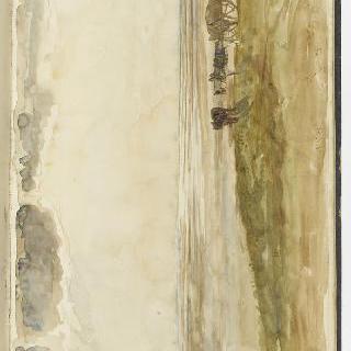 앨범 : 한 마리의 말과 수레에 매어있는 말이 있는 바닷가