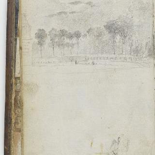 앨범 : 나무로 둘러싸인 연못의 풍경