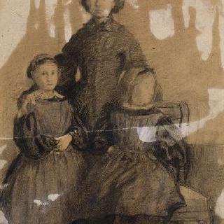 벨렐리 남작 부인과 그녀의 두 딸 초상