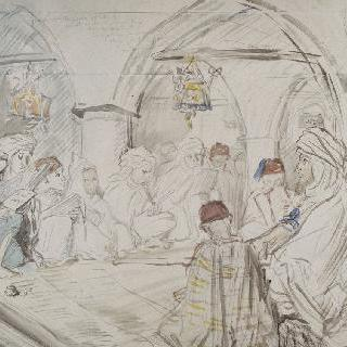 콘스탄틴의 아랍 학교 내부