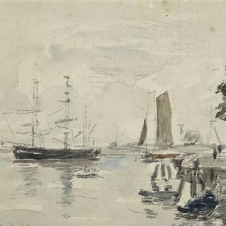로테르담의 항구