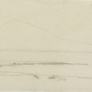 앨범 : 카타니아의 시라쿠사, 수평선의 바다와 산의 전경