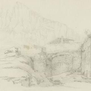 카프리 부근의 고대 요새