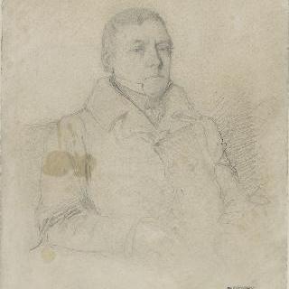 브누아 샤세리오의 초상, 이 그림 작가의 아버지