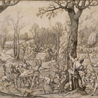 막시밀리안의 사냥 : 멧돼지 사냥 또는 11월