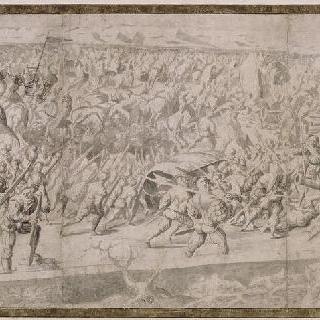 1525년 2월 25일 파비 전투 : 쫓기며 퇴각하는 왕실 군대