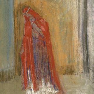 붉은 옷의 여인