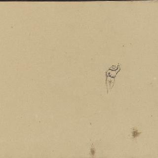 앨범 : 등을 보이고 있는 남자 스케치