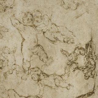순교자, 성 베드로의 죽음 습작