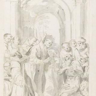 성 제롬의 최후의 성체배령