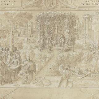아르테미즈 왕비의 두 번째 역사책의 표제
