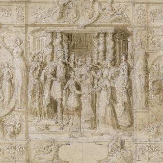 앙리 2세와 카트린 드 메디치의 결혼