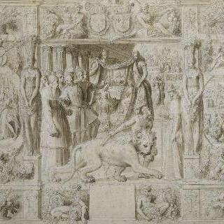 마르세유의 교황 클레멘스 7세와 프랑수아 1세의 서로 맞교환한 선물들